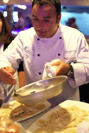Chef-proprietor Alessandro Pirozzi