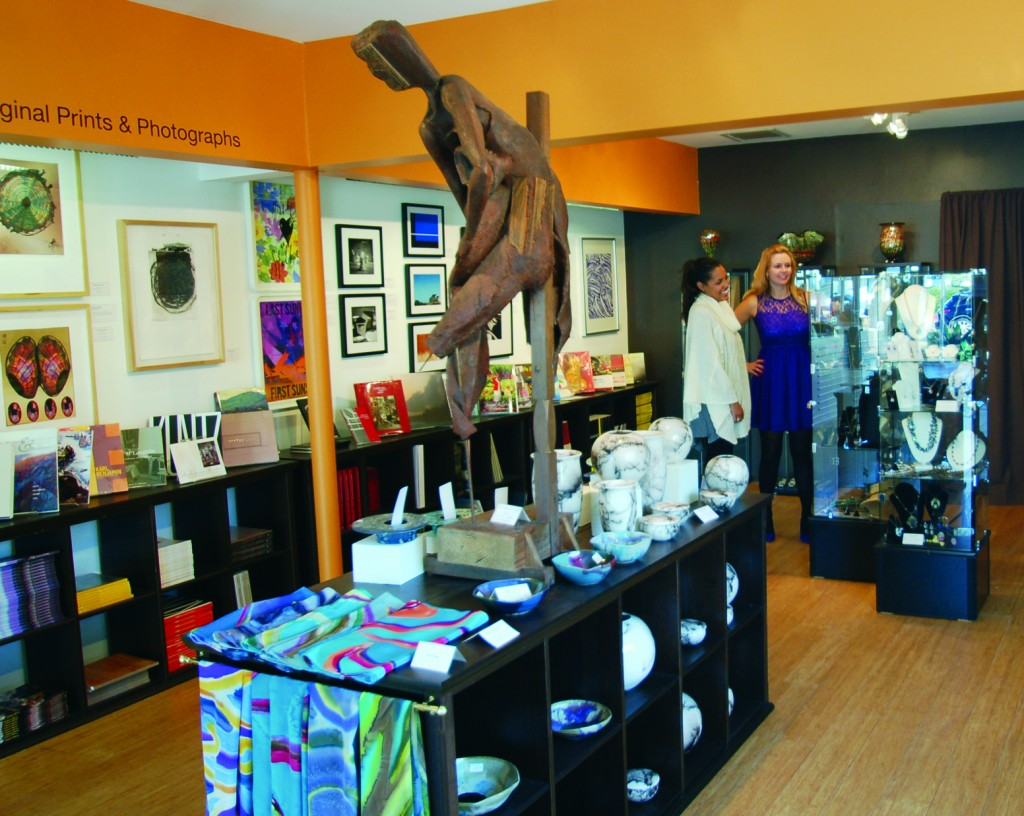 Check out the makeover at the museum's store.