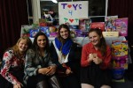 Scouts Collect For Tots