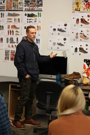 Former Boy Scout Christopher Summers designed shoes and gear for serious outdoor enthusiasts.