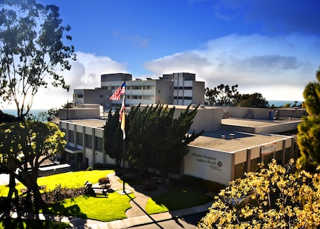 The Laguna Beach campus of Mission Hospital