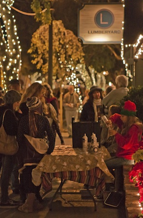 Festivities during a previous year's event. Photo by Mitch Ridder