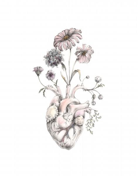 "M. Segal, ""Blooming Heart"""