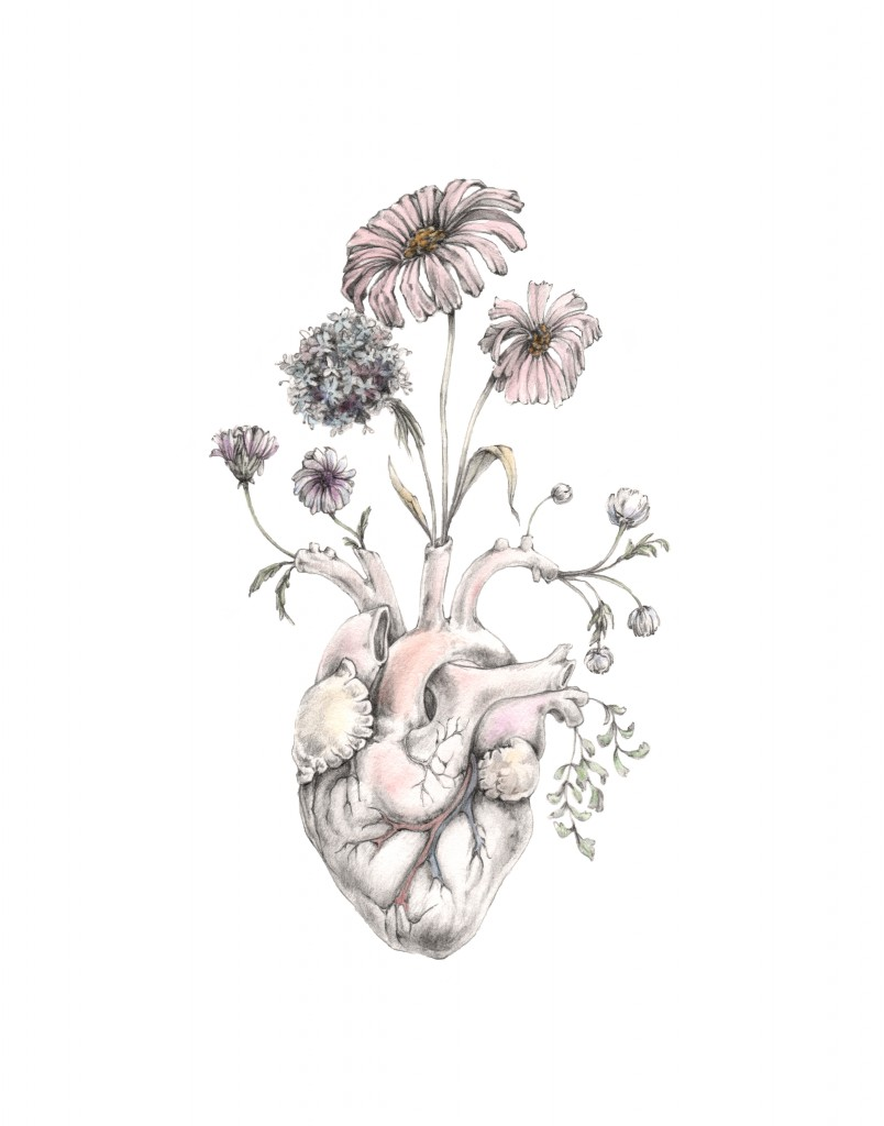 "M. Segal, ""Blooming Heart"""