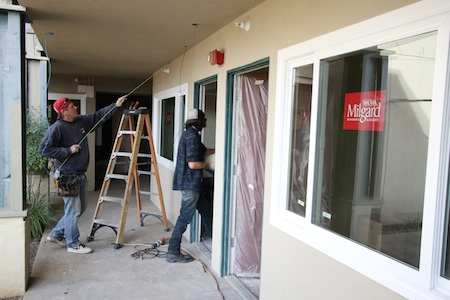 Construction underway at Laguna Beach's Glennwood House, a home for developmentally disabled adults that expects to open mid-year.