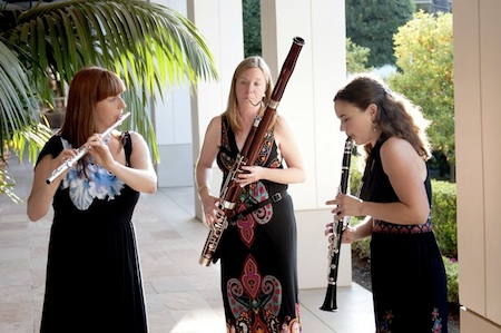"Woodwind trio Ceora Winds introduces children to classical music in ""Telling a Story with Song,"" at Newport Beach Central Library, 11 a.m.-noon, Saturday, Jan. 26, 1000 Avocado Ave."