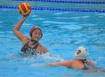 Senior Lexi Del Toro looks to shoot against Orange County's #2 ranked Newport Harbor.
