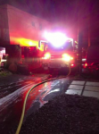 Firefighters Halt Apartment Blaze