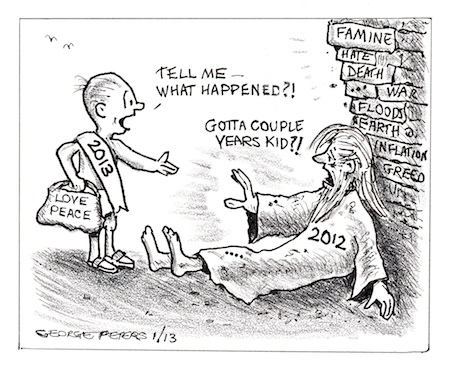 cartoon 2013 New Years