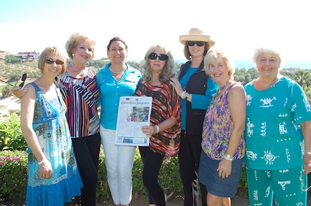 From left: Michele Monda, Pat Kollenda, Fabiola Kinder, Karyn Philippsen, Nancy Beverage, Betsy Jenkins and Carol Reynolds, the Laguna Beach Sisters Cities delegation traveled to Laguna's new sibling, San Jose Del Cabo, Mexico.