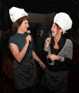 Winning chef-principals Joanne Culverhouse and Jenny Salberg.