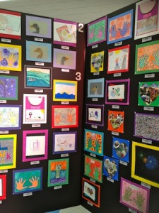 1 tow 2nd and 3rd Grade Artists