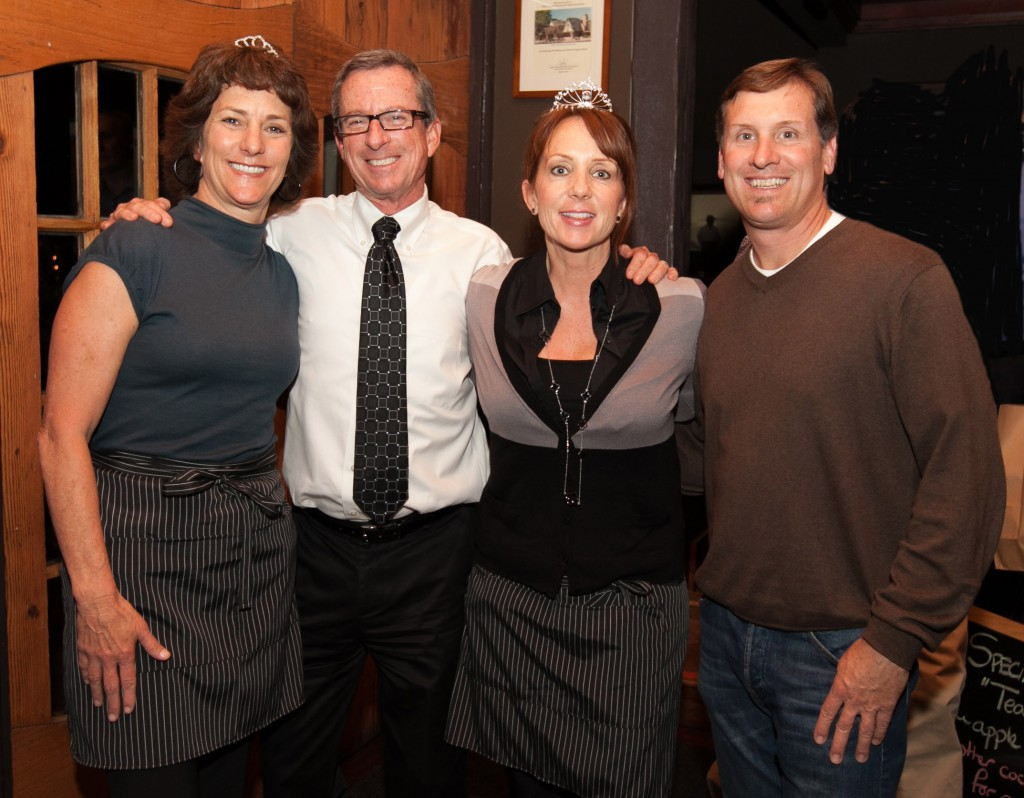 Principals of Laguna's public schools, from left, Joanne Culverhouse, Ron LaMotte, Jenny Salberg and Chris Duddy