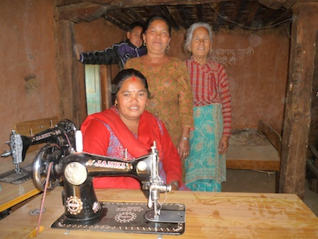 R Star Foundation's economic seeds sprout new entrepreneurs, such as a women-run sewing cooperative.