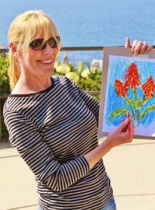 September McGee teaches a botanicals class at Crescent Bay Point Park.