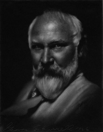 Painter Frank Cuprien