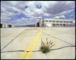 A public workshop on photography allowed students access to remaining hangars on the defunct El Toro base.