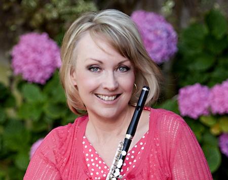 Flute conductor Cynthia Ellis