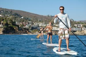 Photo courtesy of La Vida Laguna, one of the companies pressing city officials to regulate non-local paddling operators.