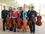 Last year's high school string ensemble.