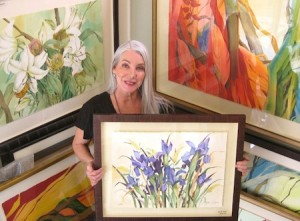 """Photo by Mike Tauber LOCA is offering an """"alfresco"""" watercolor class at Laguna Nursery with Lydia Delgago."""