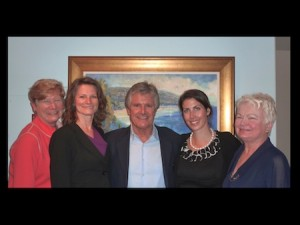 From left, foundation board members Mary Ferguson, Lyneé Kniss, Donnie Crevier, Nicole Anderson and Jane Egly.