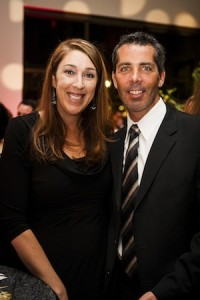 Shawn and Carie Doll, of Laguna Beach, at Tarbut V'Torah's recent benefit.