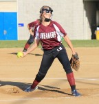 Senior Haley Putnam pitched Laguna to its season and home opening win against Capistrano Valley Christian at the Breaker's Thurston Middle School field.