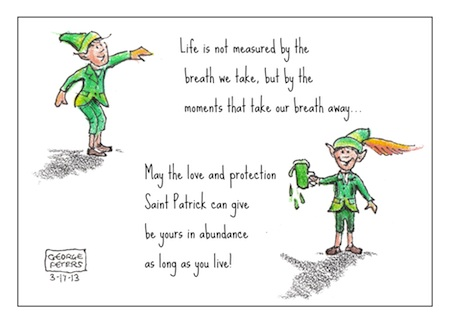 cartoon web only St. Patricks Day Editorial Cartoon 2013