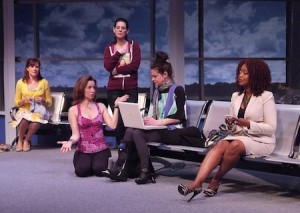 "A scene from ""Having It All,"" Laguna Playhouse, 606 Laguna Canyon Rd. times/tix: www.lagunaplayhouse.com  949-497-2787. Through 3/31"