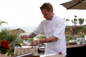 Los Angeles restaurant Ink's Chef Michael  Voltaggio at a Montage-hosted event last year.