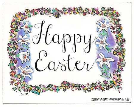 web only cartoon happy easter 2013