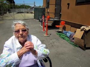 Promoting permanent housing for the homeless is one of Jean Raun's many causes.