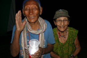 Laguna residents brought solar-powered lights to a refugee settlement in India.