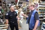 Coast Hardware clerk Vince Cunningham spills stories he's reluctant to report to Officer Darrel Short