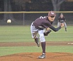 Senior Jackson Rees beat San Juan Hills 3-2 at Brookhurst Park in Anaheim to run Laguna's record in the Lions Tournament 5-0. With the victory, Rees became only the second pitcher in CIF division IV with six wins.