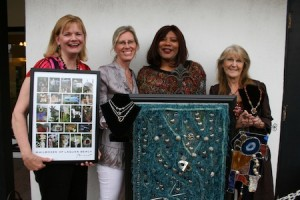 From left, Gayle Waite, Beth Kukuk, Bonita Edwards and Victoria Kaplan. Photo by Robin Pierson