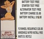 Even Marilyn Monroe loved Laguna Auto Parts.