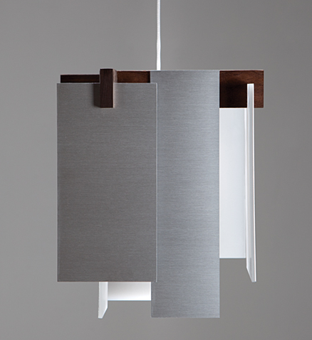 A pendant light from Cerno reflects the contemporary designs CES will showcase.