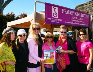 Soroptimists enthused about Saturday, April 27, Healthy Girl Festival, 10 a.m.- 4 p.m., featuring film, music, food and fun. Festival of Arts grounds, 603 Laguna Canyon Rd. Contact: 949-922-7291 maggiehs2000@gmail.com