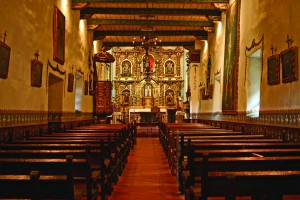 Tour Mission San Juan Capistrano's Serra Chapel on Sundays at 11:15 a.m., where Father Junipero Serra celebrated Mass in 1783.