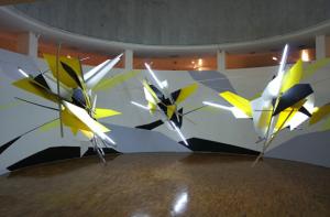 Catalan's 2010 installation in Mexico City's Museo de Arte Moderno.