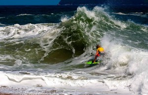 Laguna Beach's champion skimmer Sam Stinnett wins in Brazil.