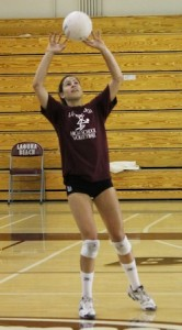 Former LBHS player Allison Palmer has a shot at the junior national volleyball team.