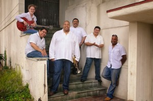 Bijon Watson and the Latin Jazz Syndicate starts up the outdoor concert series.