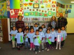 Preschool Art Enlivens the Library