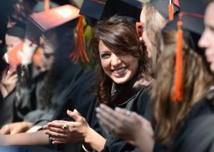 A graduating LCAD senior.