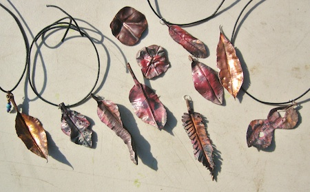 LOCA is offering a botanicals jewelry class on May 9 or 11. Photo by Mike Tauber