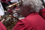 French horn player Carol Reynolds