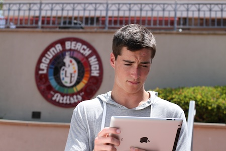 LBHS senior Jack Winter created an online magazine for a classroom assignment that surprised administrators with its sophistication.